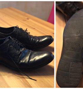 Туфли мужские кожаные 41 размер 3 пары