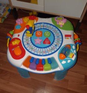 Детский развивающий столик baby go