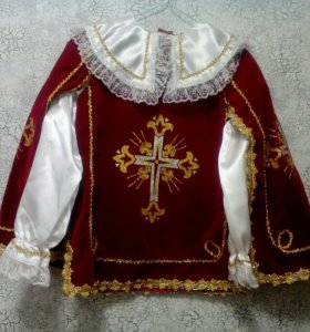 Карнавальный костюм ( Мушкетёр Короля Бордо)