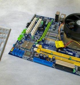 Материнская плата с процессором LGA775