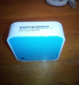 Маршрутизатор, роутер Wi-Fi TP-Link TL-WR702N