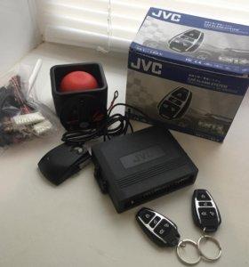 Обычная автосигнализация JVC-c913