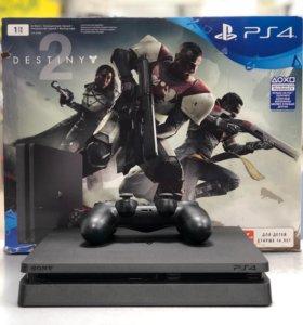 Sony Playstation 4 Slim 1 Tb+Gta V