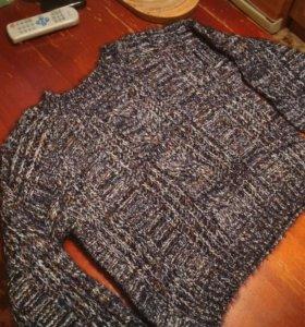 Женский вязанный пуловер
