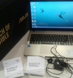 Новый ноутбук ASUS
