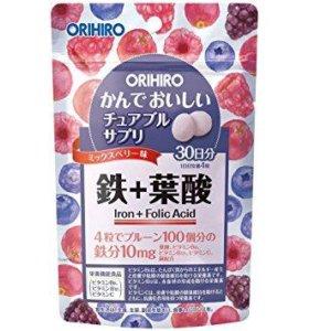 Железо, витамины. Япония