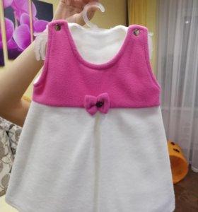 Детское платье, ручной работы