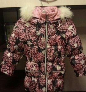Зимняя куртка на 7-8 лет