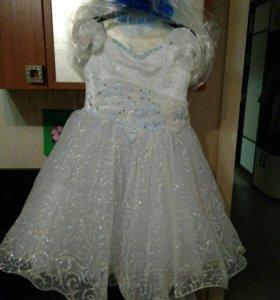Платье для Нового года, рост 104-110