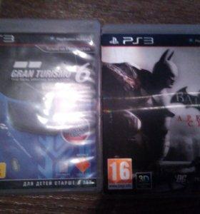 Бэтмен Аркхем сити и Gran Turismo 6 на ps3