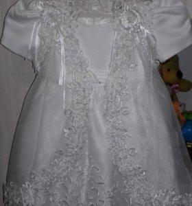 Детское платье размер 80-85