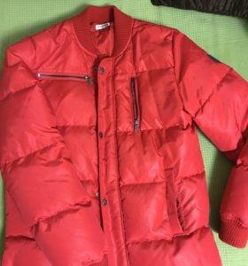 Куртка- пуховик подростковая