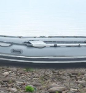 """Надувная лодка """"Фаворит """"модель F-450 с моторoм"""