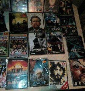 DVD диски, фильмы.
