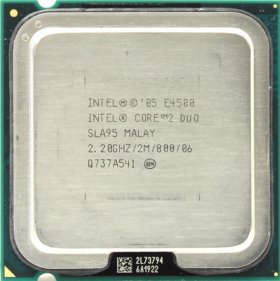 Процессор Intel Core 2 Duo E4500 2.2GHz (OEM)