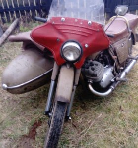 мотоцикл ИЖ ЮК