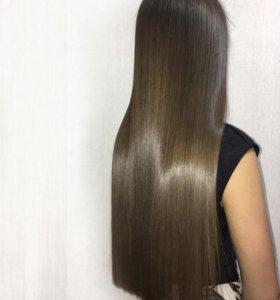 Ботокс для волос, кератин, ламинирование