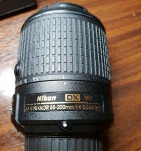 AF-S Nikkor DX 55-200mm