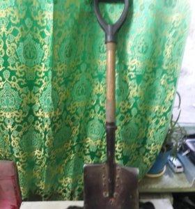 Лопата для тяжелого грунта ( Б. С. Л) переделанна