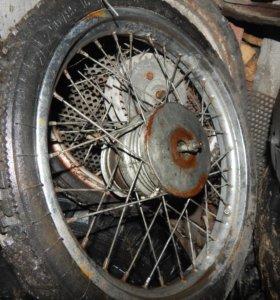колеса от советских мопедов