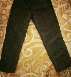 новые утепленные штаны размер 46,рост 156