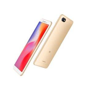 Xiaomi Redmi 6A 2/16 gb Gold. Ростест. Гарантия