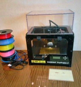 3D принтер Wanhao Duplicator 4