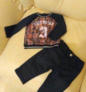 Костюм (джинсы и кофта)