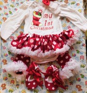 Новогодний костюм на девочку 6М
