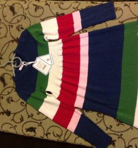 Новое трикотажное платье для 7 лет