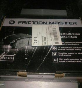 Колодки тормозные задние FrictionMaster MKD868
