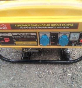 Генератор бензиновый бизон гб 2700