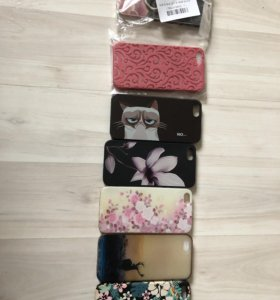 Чехлы на iPhone SE