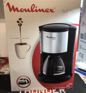Кофеварка Moulinex subito Новая