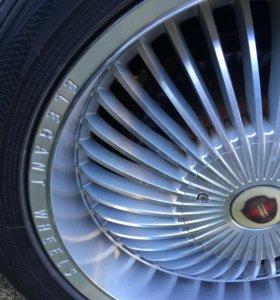 Диски Elegant Wheels и шины Dunlop