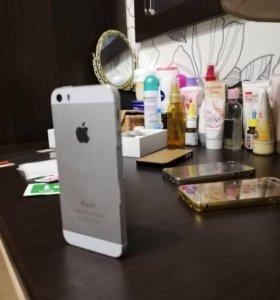 Айфон 5s silver16gb