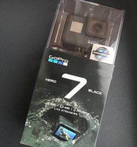 Экшн-камера GoPro Hero 7 Black (CHDHX-701) Черная