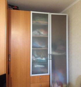 Угловой шкаф для белья