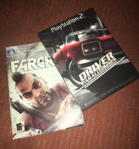 Far Cry 3(pc) и Driver parallel lines(ps2)