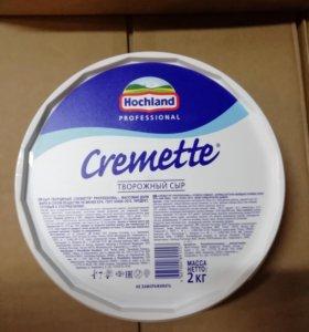 Сыр творожный Cremette