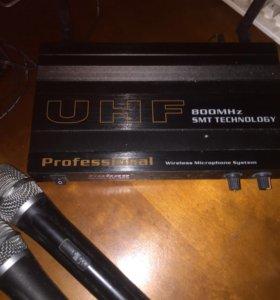 Микрофоны беспроводные