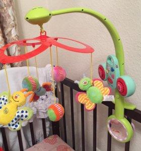Детский музыкальный мобиль Taf Toys «Бабочки»