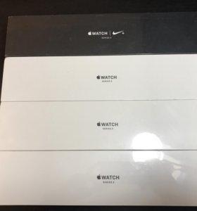 Apple Watch S3 38/42mm Space Gray/Silver Sport