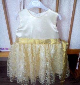 Платье на 1- 2 годика
