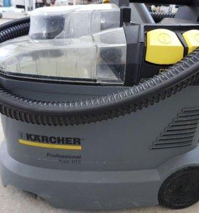Аренда моющего пылесоса Karcher Puzzi 8.1 (прокат)