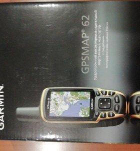 Навигатор GARMIN GPSMAP 62. только продажа!