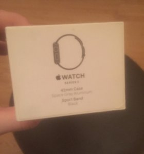 Коробка Apple Watch series 2 со всей документацией
