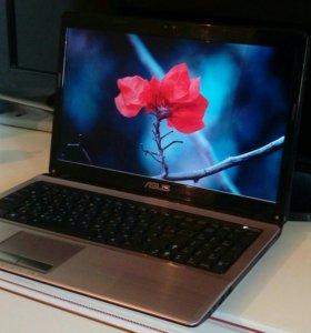 Металлический ноутбук Asus