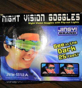 Очки ночного видения для детей