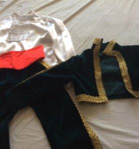 Новогодний костюм на мальчика «тореадор» 32 р-р